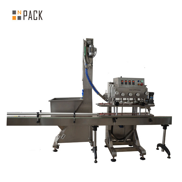 Automatic 6 Wheels Linear Trigger Capping Machine 3